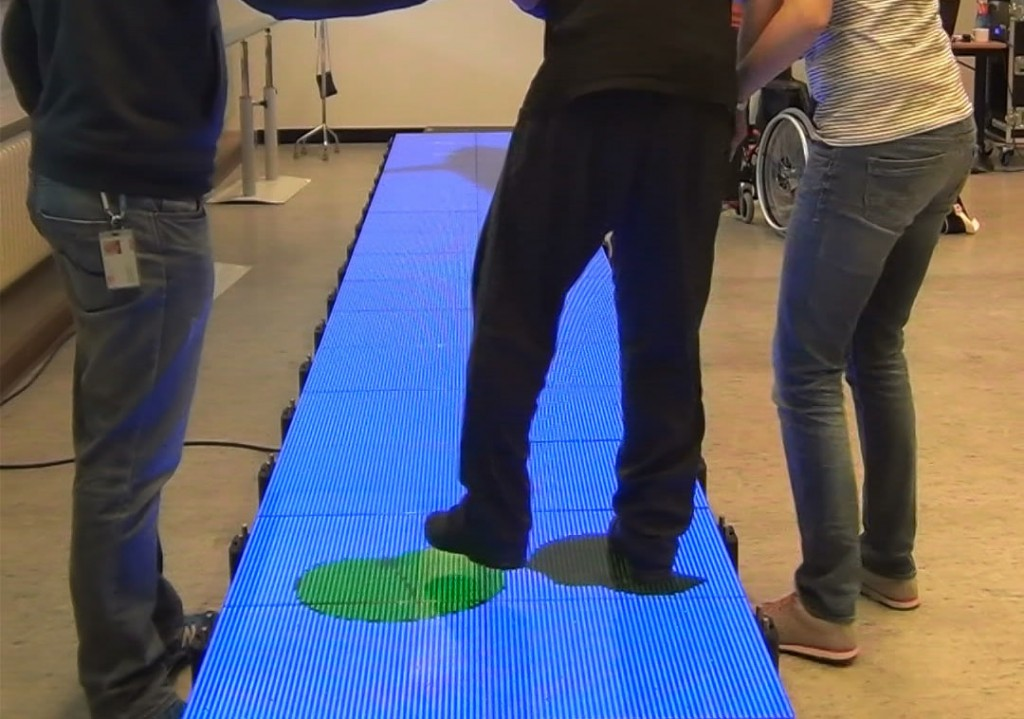 GREAT, Game-based Rehabilitation Experiences to Augment Therapy, interactive and personalized games on an interactive LED floor from LedGo